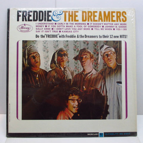 FREDDIE AND THE DREAMERS - Freddie & The Dreamers (US Orig.Mono LP)