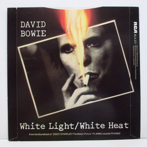"DAVID BOWIE - White Light / White Heat (UK Orig.7""+PS)"