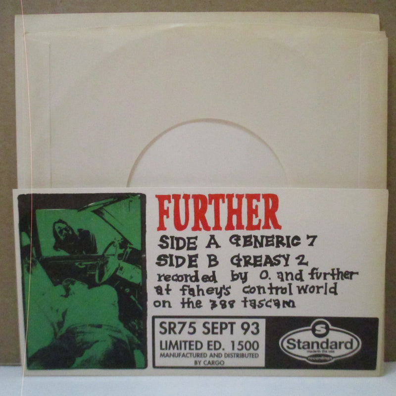 "FURTHER - Born Under A Good Sign (US Orig.7"")"