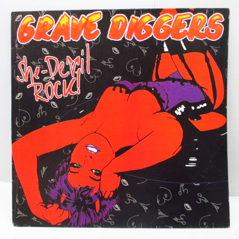 GRAVE DIGGERS - She-Devil Rock (Dutch Orig.Picture LP)