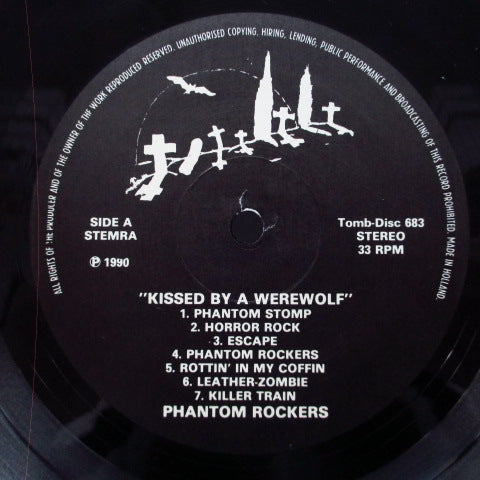 PHANTOM ROCKERS - Kissed By A Werewolf (Dutch Orig.LP)