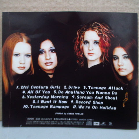 21ST CENTURY GIRLS - S.T. (Japan Orig.CD/帯欠)