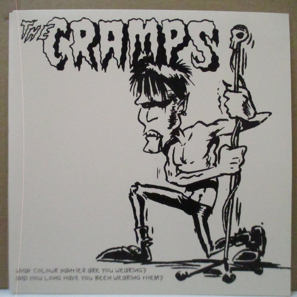 "CRAMPS - What Colour Panties Are You Wearing? (Sweden Unofficial.7""+PS)"