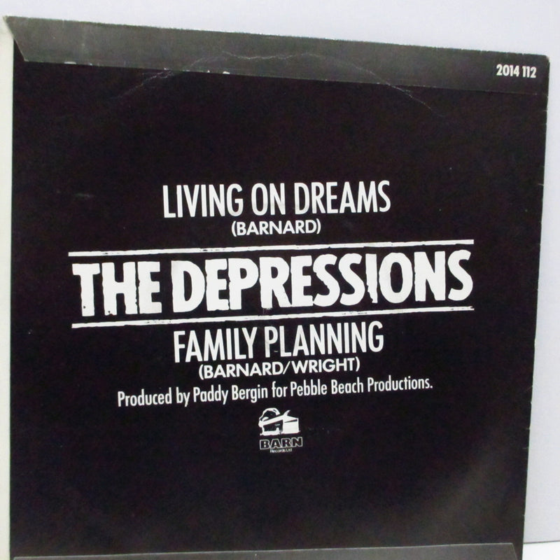 "DEPRESSIONS, THE - Living On Dreams (UK Orig.7"")"