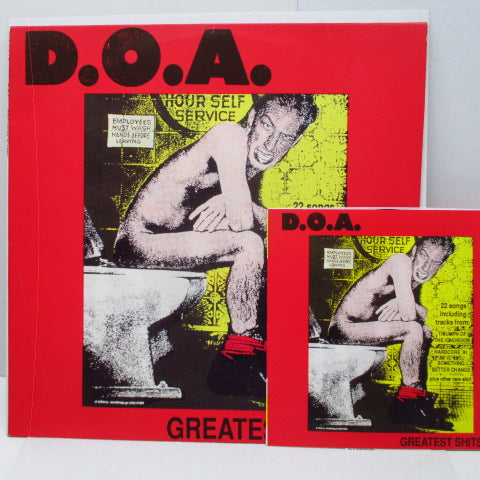 "D.O.A. - Greatest Shits (Polland Orig.LP+7"")"