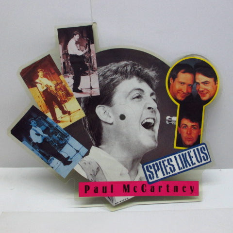 PAUL McCARTNEY - Spies Like Us (UK Ltd.Shaped Picture Disc)