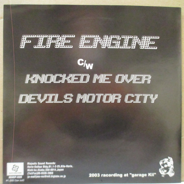 "ANN - Fire Engine (Japan Orig.7""+PS)"
