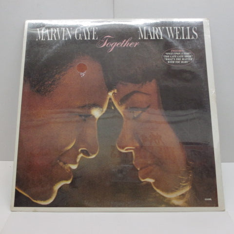 MARVIN GAYE / MARY WELLS - Together (US:80's Re/Seald!)