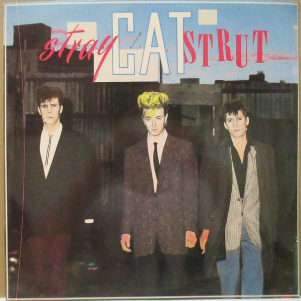 "STRAY CATS (ストレイ・キャッツ)  - Stray Cat Strut (UK Orig.12"")"