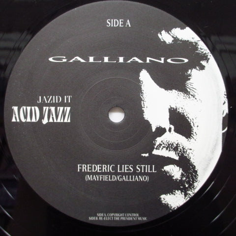 "GALLIANO (ガリアーノ)  - Frederic Lies Still +2 (UK Orig.12"")"