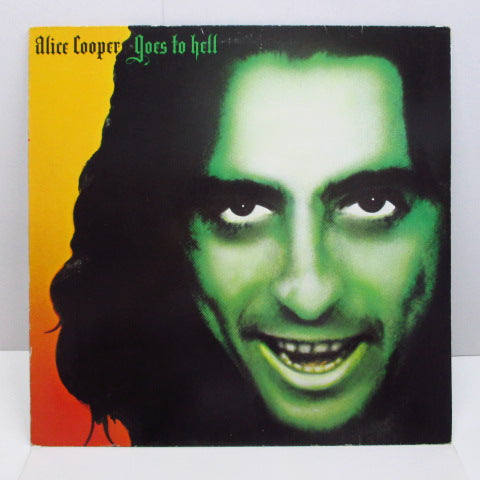 ALICE COOPER - Goes To Hell (GERMAN 80's Reissue)