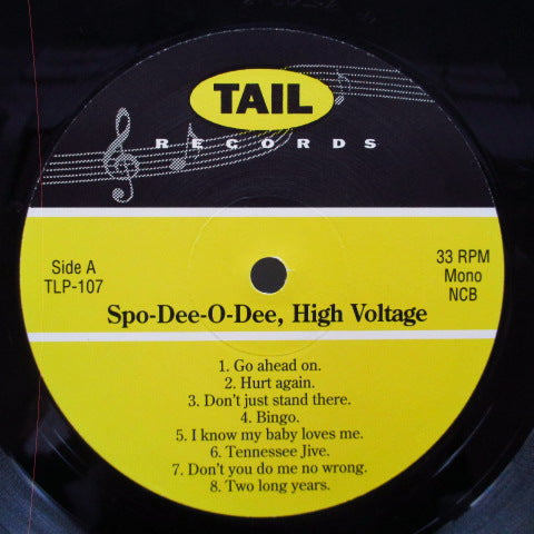 SPO-DEE-O-DEE - High Voltage (Sweden Orig.LP)