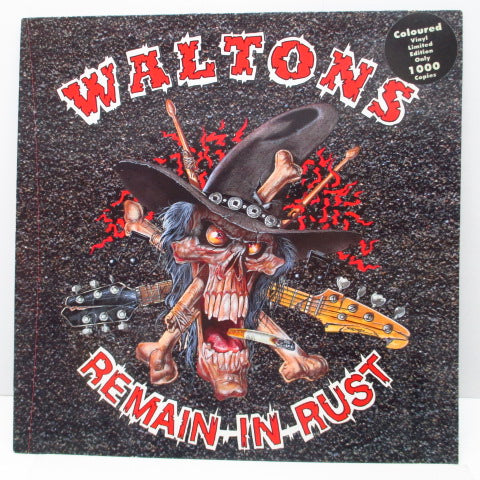 WALTONS - Remain In Rust (German Ltd.White Vinyl LP)