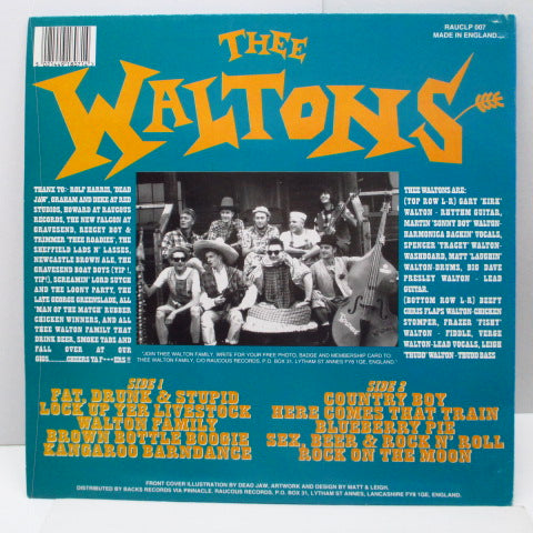 WALTONS, THEE - Lock Up Yer Livestock It's (UK Orig.Orange Vinyl LP)