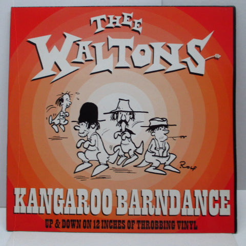 "WALTONS, THEE - Kangaroo Barndance (UK Orig.12"")"