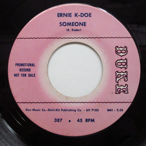 ERNIE K-DOE - Little Bit Of Everything / Someone (Promo)