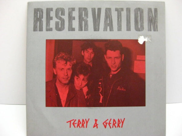 "TERRY & GERRY - Reservation (UK Orig.7""+PS)"
