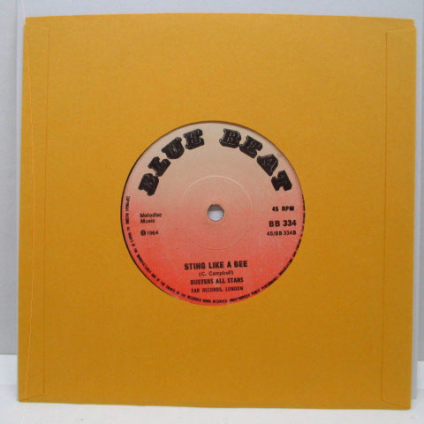 "PRINCE BUSTER - Ten Commandments Of Man (UK 60's Re Light Red Lbl.Flat Centre 7"")"