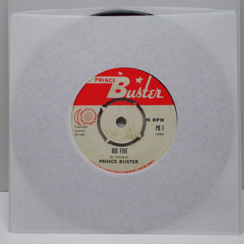 "PRINCE BUSTER - Big Five (UK Reissue.7""/Red & White Lbl.)"