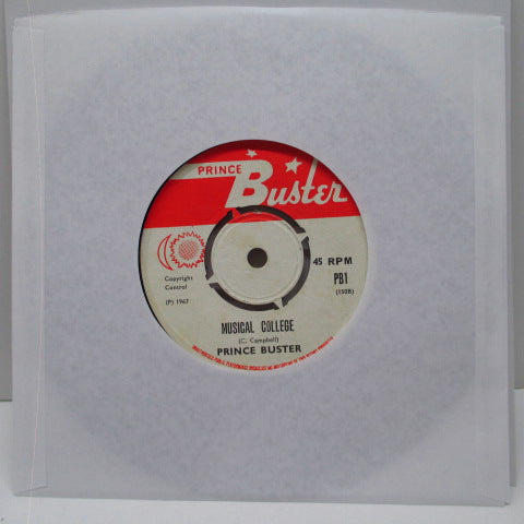 "PRINCE BUSTER - Big Five (UK '70 Re Red & White Lbl.Round Centre 7"")"