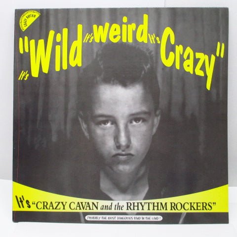 CRAZY CAVAN & THE RHYTHM ROCKERS - It's Wild It's Weird It's Crazy (UK Orig.LP)