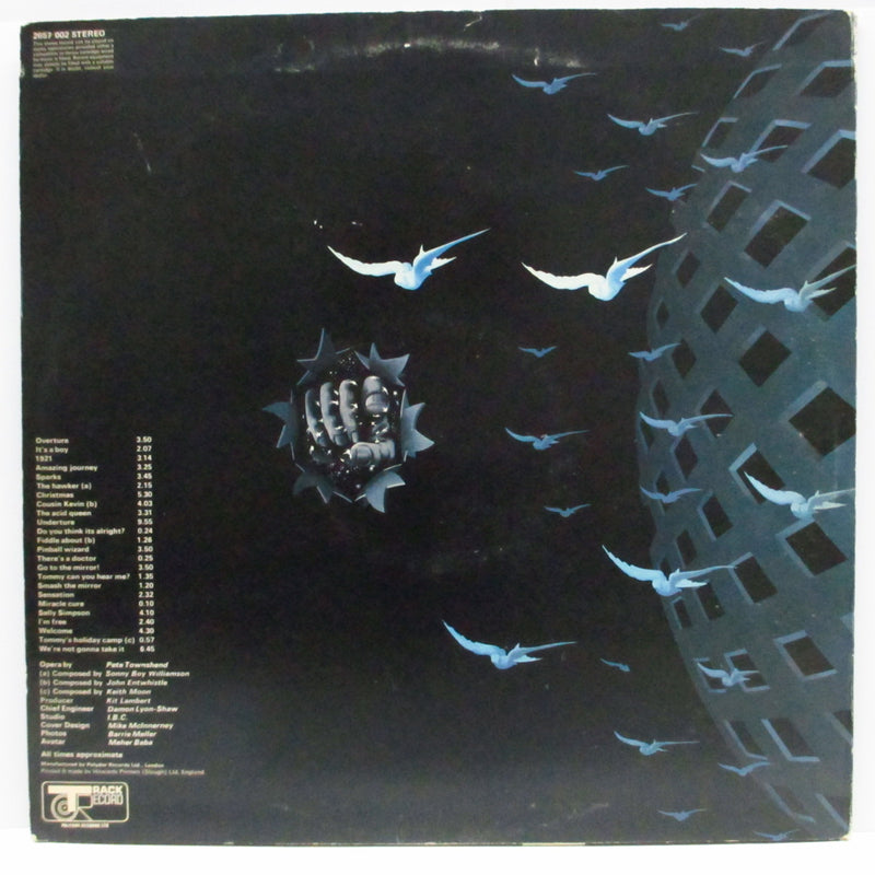 WHO - Tommy (UK Late 70's Re 2xLP+No Numbered Booklet/GS)