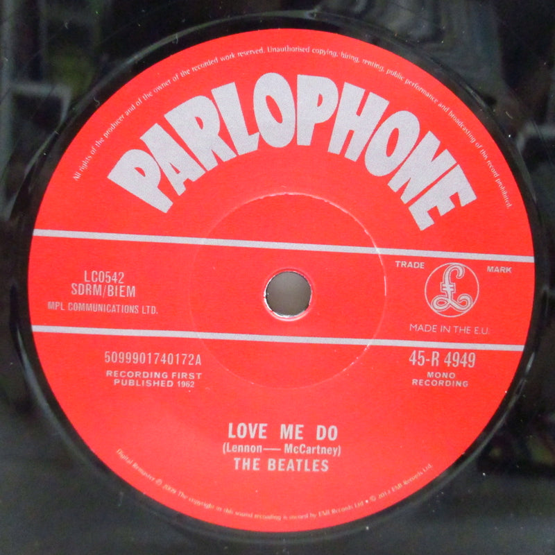 "BEATLES - Love Me Do (EU '12 Withdrawn Reissue 7""+CS)"