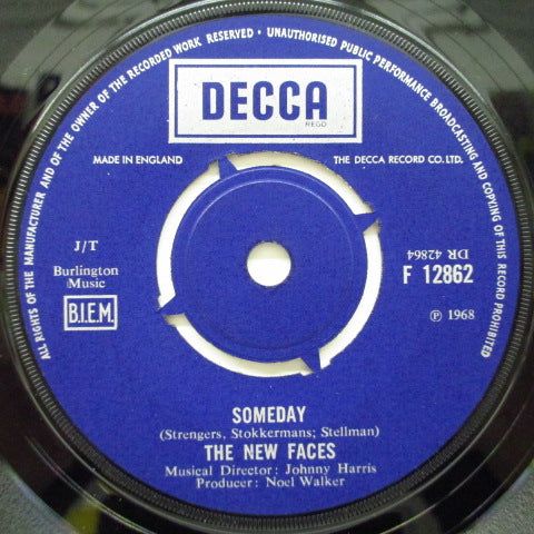 "NEW FACES - Someday (UK Orig.7"")"