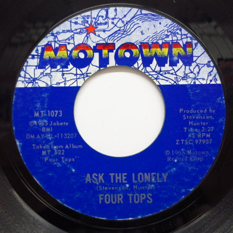 FOUR TOPS - Ask The Lonely (US Orig)