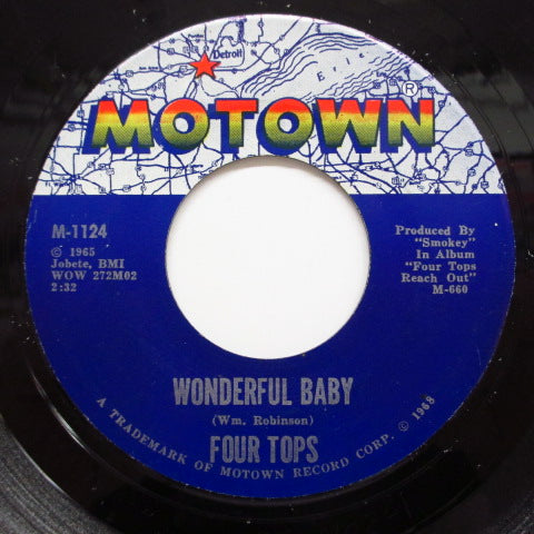 FOUR TOPS - Wonderful Baby (US Orig.)