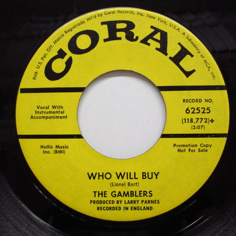 GAMBLERS - Who Will Buy (Promo)