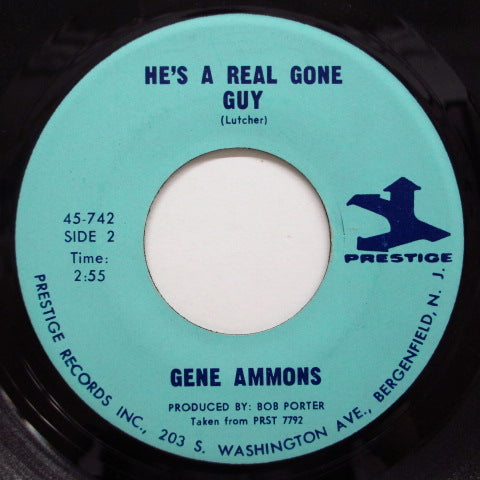 GENE AMMONS-Jug Eyes / He's A Real Gone Guy