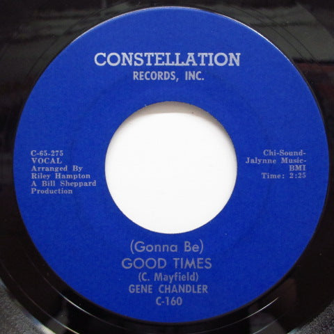 GENE CHANDLER - (Gonna Be) Good Times (Orig)