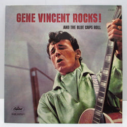 GENE VINCENT - Rocks! And The Blue Caps Roll (France '76 Re Mono LPP)