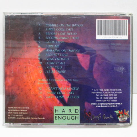 FRANCINE-Hard Enough (Finland Orig.CD)