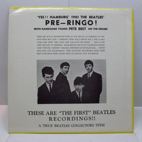 BEATLES - This Is The...The Savage Young Beatles (US 70's Unofficial LP #1)