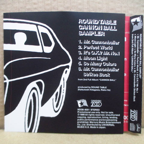 ROUND TABLE - Cannon Ball Sampler (Japan Promo.Mini-CD)