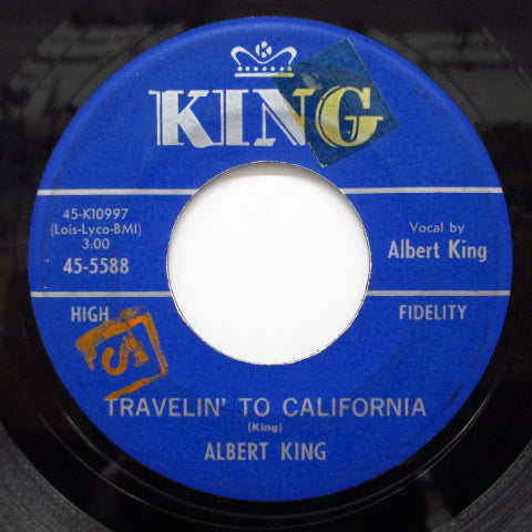 ALBERT KING - Dyna Flow / Travelin' To California