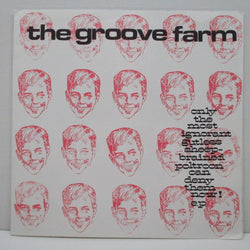 "GROOVE FARM, THE  - Only The Most Ignorant Gutless Sheep-brained Poltroon Can Deny Them Now EP (UK Orig.7"")"