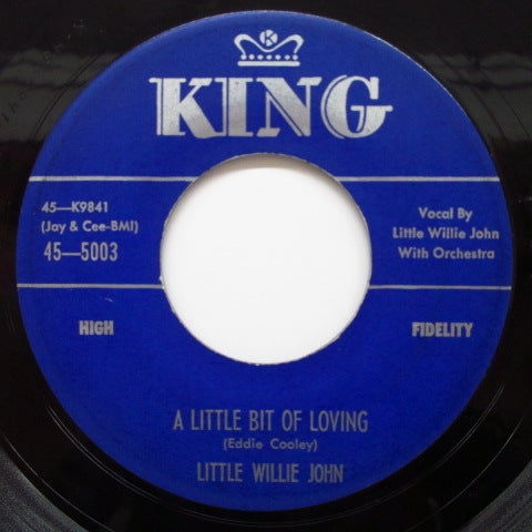 LITTLE WILLIE JOHN - A Little Bit Of Loving