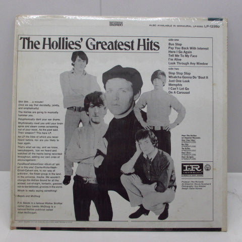 HOLLIES - The Hollies' Greatest Hits (US:Orig.STEREO)