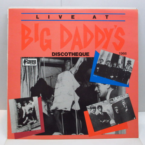 V.A. - Live At Big Daddy's Discotheque (OZ Orig.LP)
