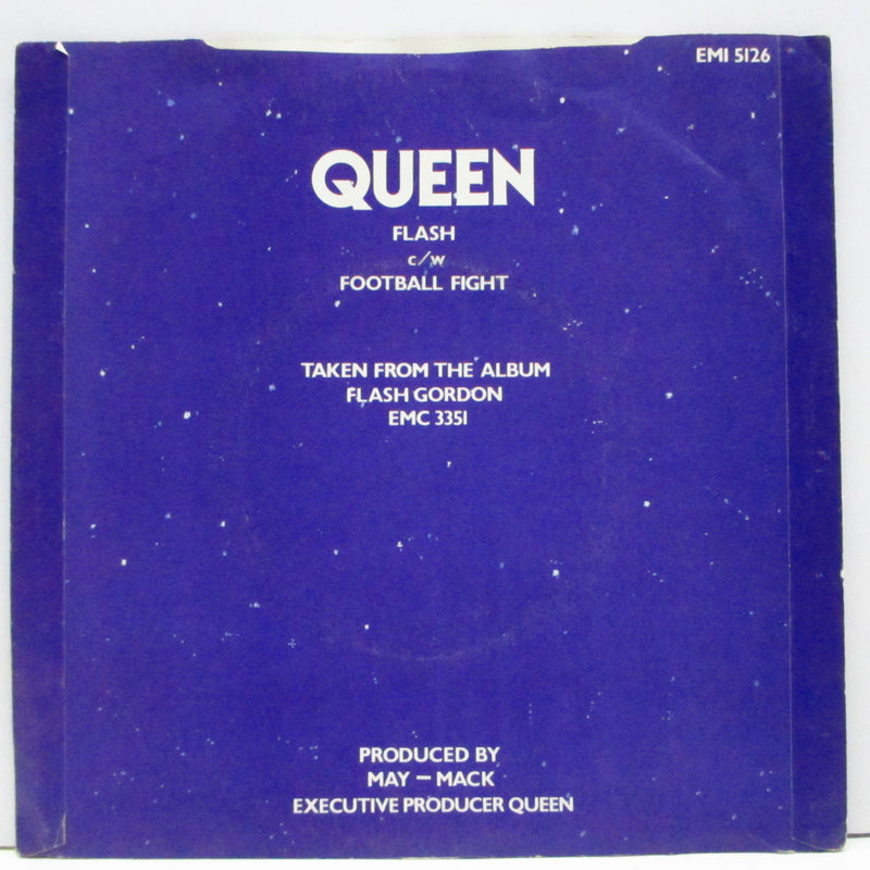 "QUEEN (クイーン)  - Flash (UK Orig.7""+PS)"