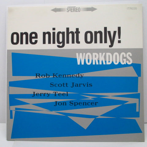 WORKDOGS - One Night Only! (US Orig.LP)