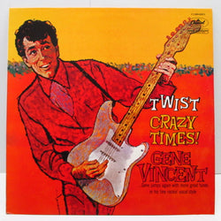 GENE VINCENT - Crazy Times! (France 80's Re Black Lbl.Stereo LP)