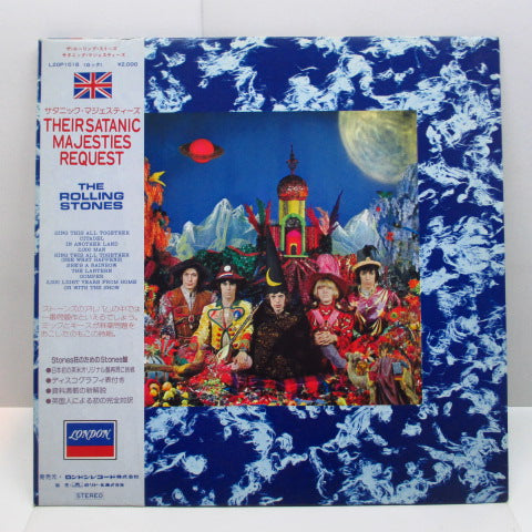ROLLING STONES - Their Satanic Majesties Request (Japan Re Stereo LP+Obi/L20P-1018)