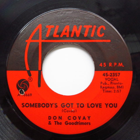 DON COVAY & THE GOODTIMERS - Somebody's Got To Love You (Orig)