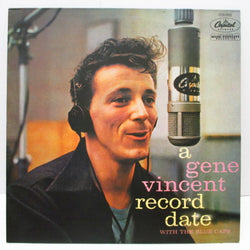 GENE VINCENT - Record Date (France 80's Re Black Lbl.Mono LP)