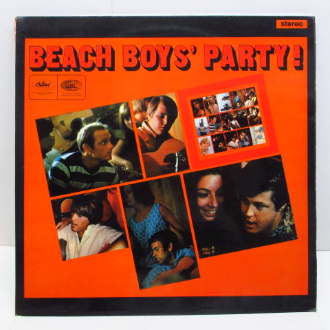 BEACH BOYS - Beach Boys' Party ! (UK 60's 2nd Press STEREO/CFS)