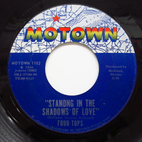 FOUR TOPS - Standing In The Shadows Of Love (Orig.)